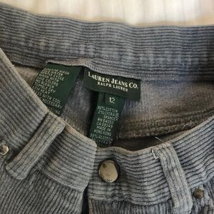 ralph lauren periwinkle corduroy cotton pants